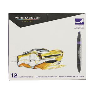 Prismacolor Art Markers Primary and Secondary Colours 12 Pack