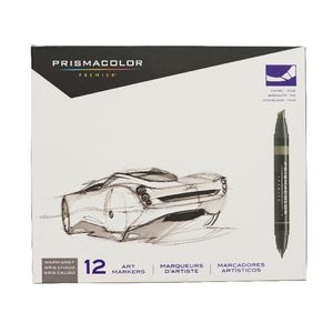 Prismacolor Art Markers Warm Grey 12 Pack