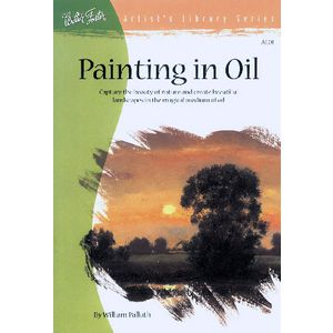 Walter Foster Artist's Library Range Painting in Oil Book