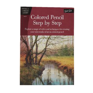 Walter Foster Coloured Pencils Step By Step Book
