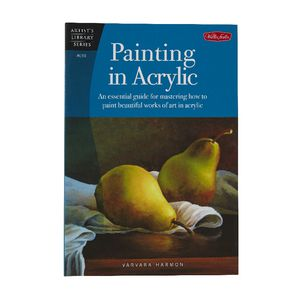 Walter Foster Painting in Acrylic Book