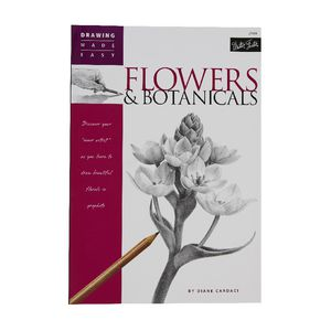 Walter Foster Flowers and Botanicals Book