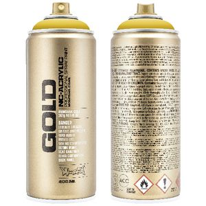 Montana GOLD Spray Paint 400mL Banana