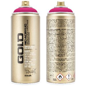 Montana GOLD Spray Paint 400mL Gleaming Pink