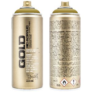 Montana GOLD Spray Paint 400mL Mustard