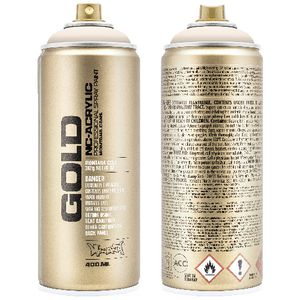 Montana GOLD Spray Paint 400mL Orange Ice