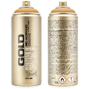 Montana GOLD Spray Paint 400mL Blast Orange