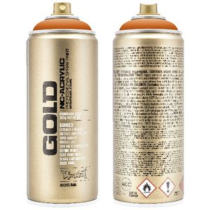Montana GOLD Spray Paint 400mL Orange