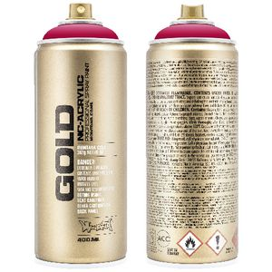 Montana GOLD Spray Paint 400mL Raspberry