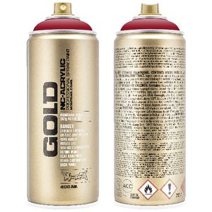 Montana GOLD Spray Paint 400mL Ketchup