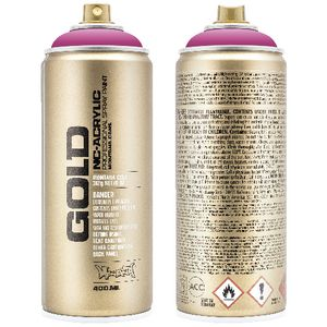 Montana GOLD Spray Paint 400mL Pink Pink