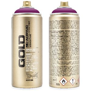 Montana GOLD Spray Paint 400mL Cherry Blossom