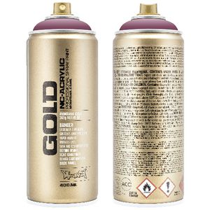 Montana GOLD Spray Paint 400mL Dusty Pink