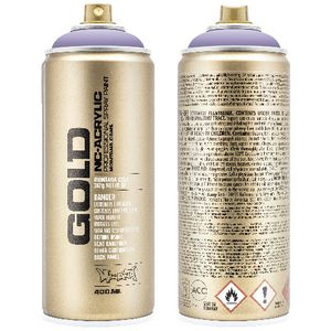 Montana GOLD Spray Paint 400mL Light Lilac