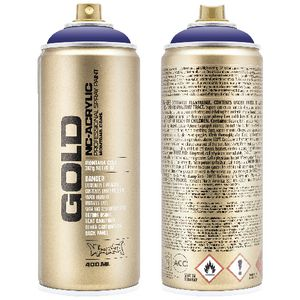 Montana GOLD Spray Paint 400mL Gonzo