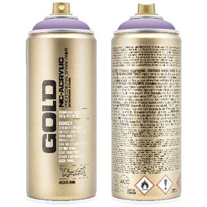 Montana GOLD Spray Paint 400mL Viola