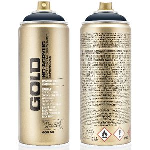 Montana GOLD Spray Paint 400mL Nautilus