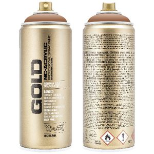 Montana GOLD Spray Paint 400mL Nougat