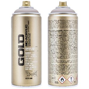 Montana GOLD Spray Paint 400mL Brain