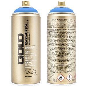 Montana GOLD Spray Paint 400mL Flame Blue