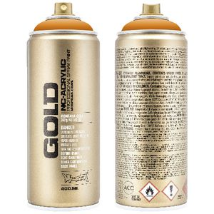 Montana GOLD Spray Paint 400mL Shock Orange