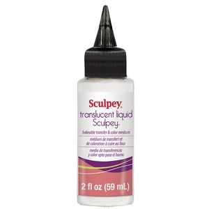 Sculpey Translucent Liquid 59mL Clear