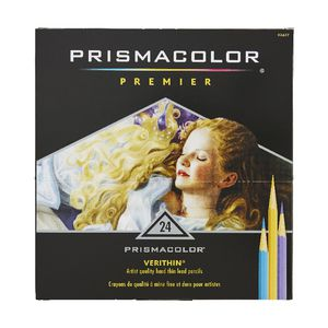 Prismacolor Verithin Coloured Pencils 24 Pack