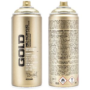 Montana GOLD Spray Paint 400mL Goldchrome