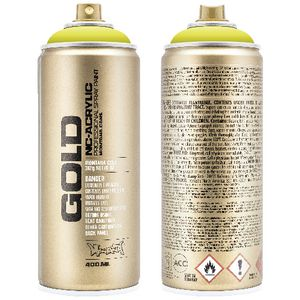 Montana GOLD Spray Paint 400mL Poison Light