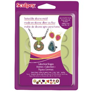 Sculpey Flexible Push Mould Cabochon Shapes