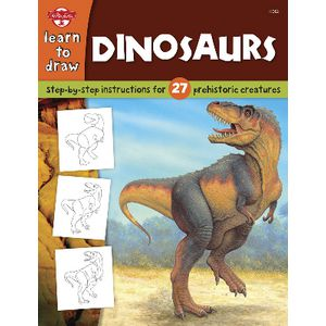Walter Foster Jr Learn to Draw Book Dinosaurs
