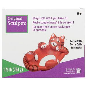 Sculpey Original Modelling Clay Terracotta 794g