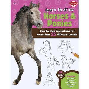 Walter Foster Jr Learn to Draw Book Horses & Ponies