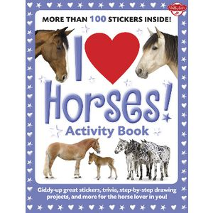 Walter Foster Jr I love Book Horses
