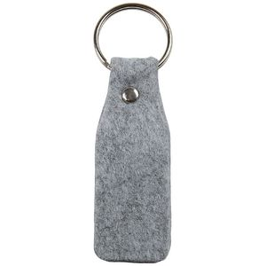 Rexel Felt Key Ring Light Grey