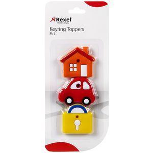 Rexel Key Toppers 3 Pack