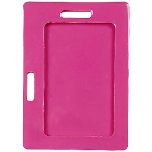 Rexel Silicone Card Holder Portrait and Landscape Pink