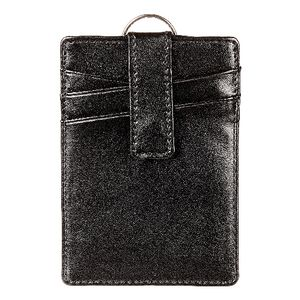Rexel Leatherette Pass Holder with Key Ring
