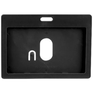 Rexel Card Holder Landscape Black 6 Pack