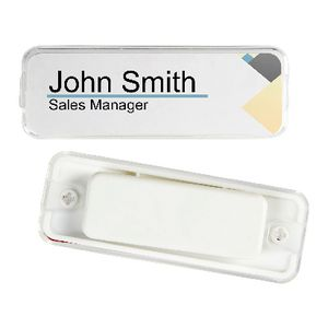 rexel magnetic name badge 3 pack - Magnetic Name Badges