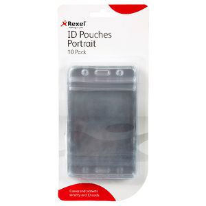 Rexel Exhibition Card Holder 10 Pack