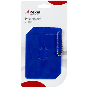 Rexel 2 Pocket Pass Holder