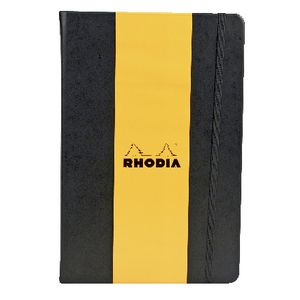 Rhodia Webbie A5 Plain Notebook Black