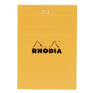 Rhodia No. 12 85 x 120mm Graph Pad Orange