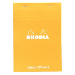 Rhodia No. 16 A5 Dot Grid Pad Orange