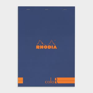 Rhodia No. 18 Premium Lined Notepad Sapphire Blue