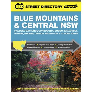 UBD Blue Mountains & Central NSW Street Directory