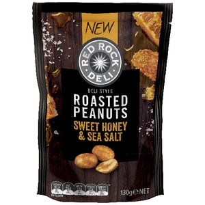 Red Rock Deli Nuts Honey and Sea Salt 150g at Officeworks in Campbellfield, VIC | Tuggl