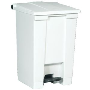 Rubbermaid Step-On Bin 45.4L White