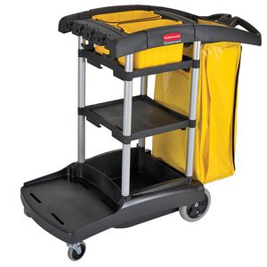 Rubbermaid Janitor Cart High Capacity
